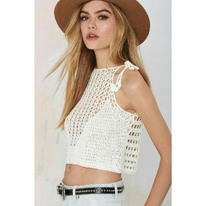 Nasty Gal Center Stage Crop Top